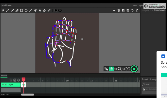 hand two