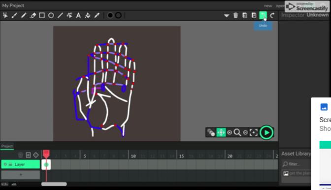 hand four